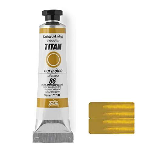 TITAN - OLEO OCRE AMARILLOCLARO T10 SNº1