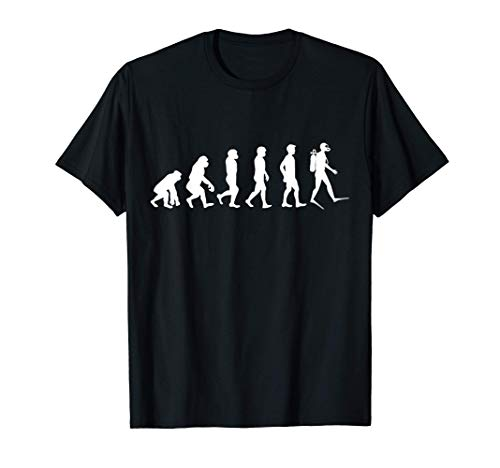 Evolution des Menschen zum Taucher...