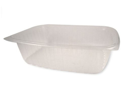 Best Price World Centric RD-CS-48 Compostable Ingeo Rectangle Deli Container, 48 oz. (Pack of 400)