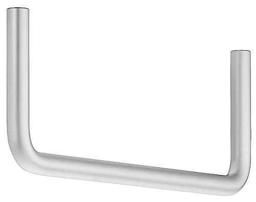 Moderne garderobehanger nikkel mat 1 Stück - Chrom matt Metaal vernikkeld mat