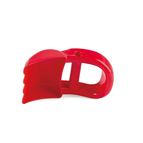 Hape International- Pala Excavadora Roja Playa, Multicolor (E4072)