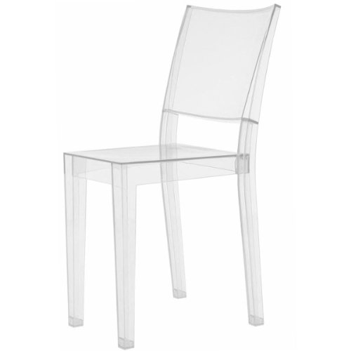 Kartell 4850B4 Stuhl La Marie glasklar