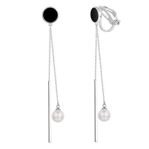 double sided long earrings - 5