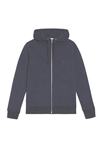 ARMEDANGELS GAABRIEL - Herren Sweatjacke aus Bio-Baumwoll Mix L Navy Sweatjacket Solid, Sweat Jacke Regular fit