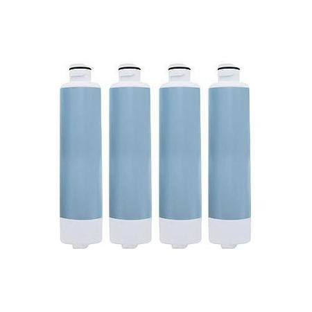 Replacement Water Filter Cartridge for Samsung Refrigerator Models RF23J9011SR / RF26J7500SR/AA (4 Pack)