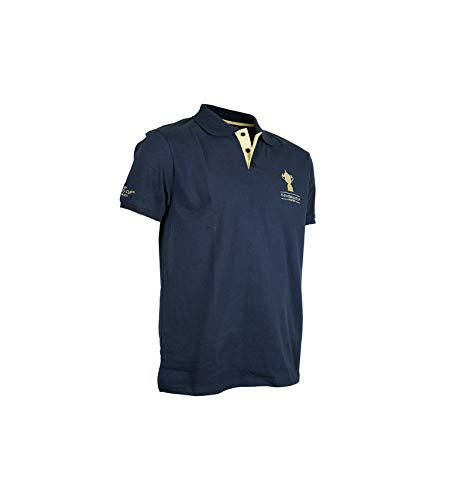Rugby World Cup 2019 Polo-Webb Ellis Rugby-Weltmeisterschaft, offizielle Kollektion XL blau