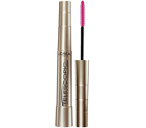 L'Oreal Paris Makeup Telescopic Original Lengthening Mascara, Blackest Black, 0.27 Fl Oz (1 Count)