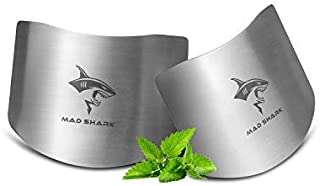 MAD SHARK Chef Stainless steel Finger guard knife cutting protector Kitchen Tool Guard Finger Protector Avoid Hurting When Slicing and chopping