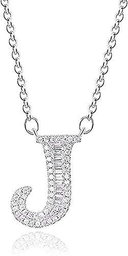 Collana ciondolo collana donna alfabeto lettera collana girocollo gioielli dimensioni 45 cm collana ciondolo catena per donne uomini ragazze bambini