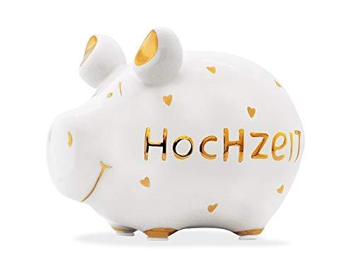 KCG Sparschwein klein Hochzeit Gold Edition