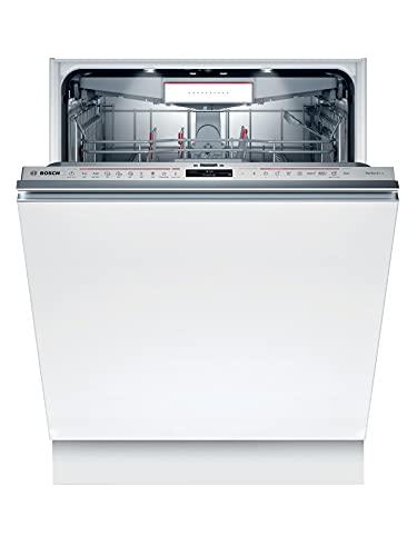 Bosch SMV8YCX01E Serie 8 Lavavajillas totalmente integrado, B, 60 cm, 65 kWh/100 ciclos, 14 MGD, Silence Plus, TimeLight, zeolith, VarioCajón Pro, Home Connect.
