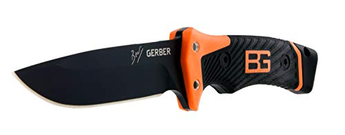 Gerber Bear Grylls Outdoor/Survival-Messer, Ultimate Pro Fixed Blade Knife, Klingenlänge: 12 cm, Rostfreier Premiumstahl, 31-001901