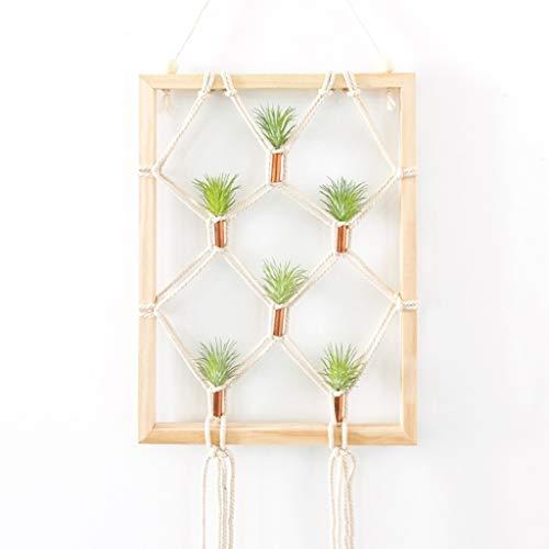 YONGYONGCHONG Simulatie Plant Wanddecoratie Wandhanger Creatieve Wanddecoratie Emboss