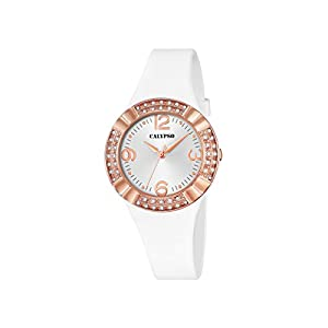 Calypso K5659/1 – Reloj de Cuarzo para Mujer, Esfera analógica Blanca