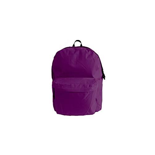 Projects Rucksack 'Basic Line' - aus strapazierfähigen Polyester - Premium Qualität - universell einsetzbar für Damen, Herren & Kinder - Leichter Arbeitsrucksack - 8 Trendige Farben (lila)