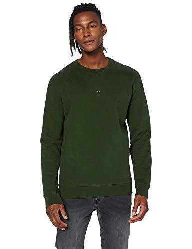 BOSS Herren Weevo Sweatshirt, Open Green (346), XXL EU
