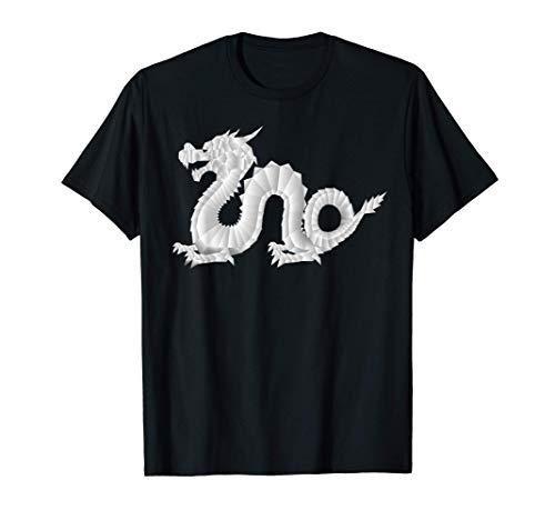 Papel de origami plegable Dragón chino China Camiseta