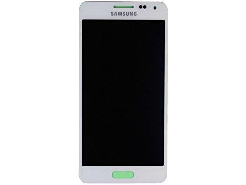 Samsung G850F Galaxy Alpha Display Einheit weiß