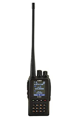 ALINCO DJ-MD5 EPG Walkie Talkie Doble Banda UHF, VHF y Digital DMR