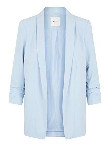 PIECES Female Blazer Langer 3/4-Ärmel LKentucky Blue