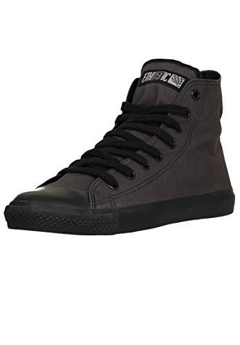 Ethletic Unisex Sneaker Hi Fair Trainer Black Cap Pewter Grey | Jet Black 42 Fair | Vegan | Nachhaltig