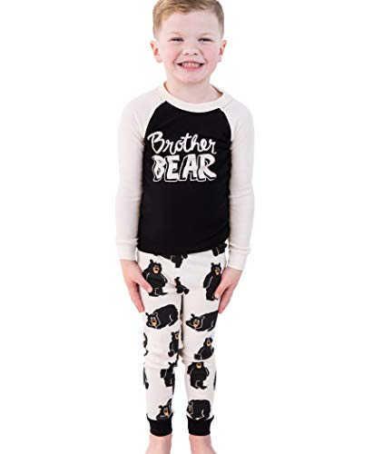 LazyOne Matching Family Pajama Sets for Adults, Kids, and Baby (Family Bear)