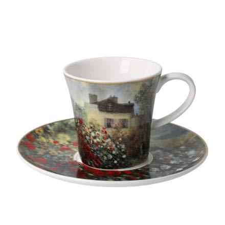Goebel Artis Orbis Claude Monet Das Künstlerhaus - Kaffeetasse Neuheit 2020 67014041