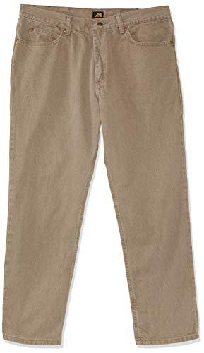 Lee Men's Relaxed Fit Straight Leg Jean, Tarmac, 38W x 29L