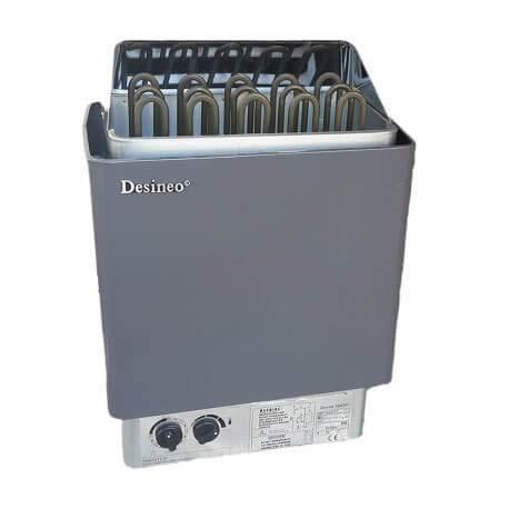 Desineo 9 kW Saunaofen mit integrierter Steuerung