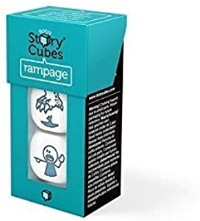 Rory's Story Cubes Rampage by The Creativity Hub Ages 6+ - 1 or more Players