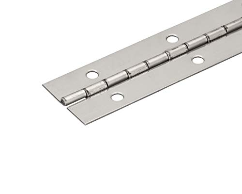 1 1/2' 304 Stainless Steel Continuous Hinge/Piano Hinge (36' Long)