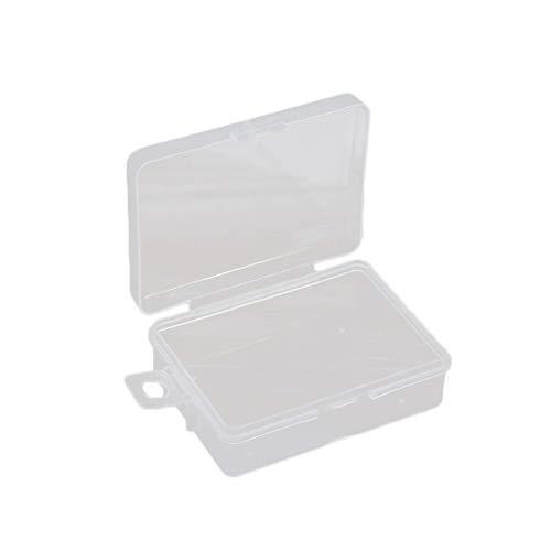 Tragbare Transparente Jewelry Box Pillen Teile Nails Schrauben Organisator Sealed-Speicher-Fall