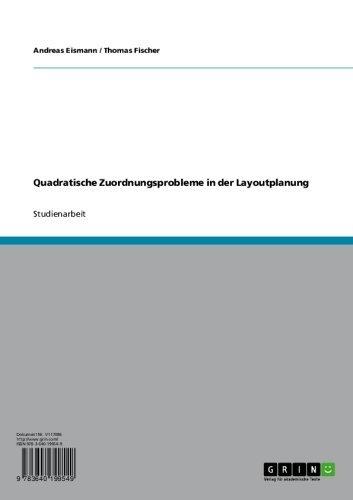 Quadratische Zuordnungsprobleme in der Layoutplanung
