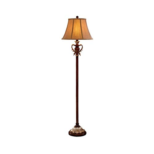 LED Floor Lamp-Free Standing Pole Licht for woon- of slaapkamer-Study Room Modern Reading Lamp-Simple Home Decoration Floor Light DZE (Color : Brown, Size : 40.5cm*158cm)