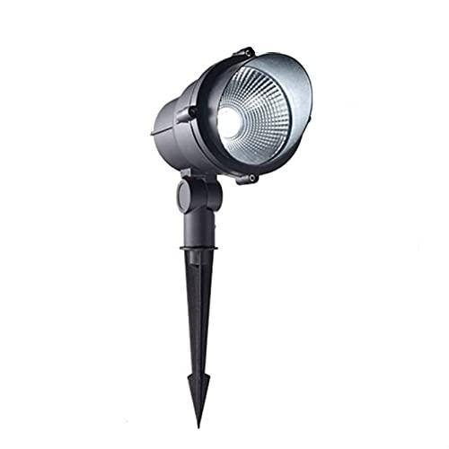 BDSHL Luz de Inundación LED Luz de Conexión a Tierra Villa Jardín Patio Proyector COB Exterior IP65 a Prueba de Agua 305° Portalámparas Giratorio Luz de Paisaje 【Clase de Eficiencia Energética