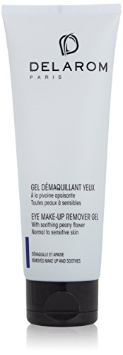 DELAROM Eye Make-up Remover Gel with Soothing Peony Flower 125 ml