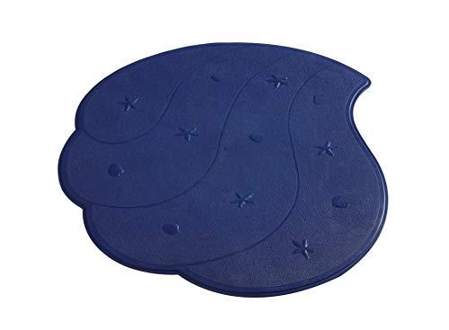 RIDDER Duscheinlage Wave ultramarinblau 54x54 cm