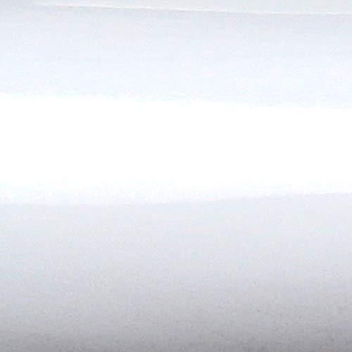 TipTopCarbon 5,16€/m² Möbelfolie Weiss Glanz Klebefolie 5m x 62cm selbstklebende Plotterfolie glänzend