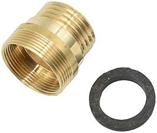 """SHUOYUE Garden Faucet Adapter M22 Female/M24 ذكر الخيط الخارجي إلى 1/2 """"ملحقات الحنفية ذكر التجهيزات الري بالتنقيط موصل 1 ..."""