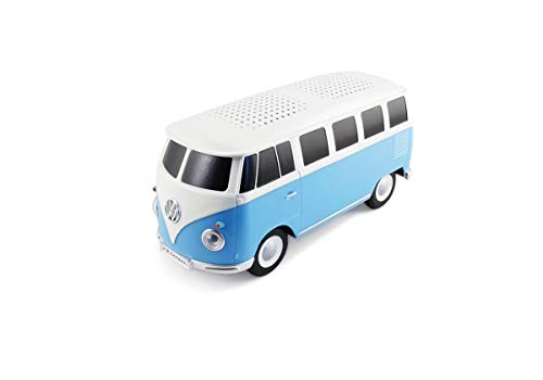BRISA VW Collection Volkswagen T1 Bus Transporter Bluetooth-luidspreker - Blauw/Wit
