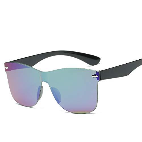 ShSnnwrl Gafas Sol De Hombre Mujer Polarizadas Sunglasses Gafas De Sol De Ojo De Gato Siamés A La Moda para Mujeres/Hombres Lentes Degra