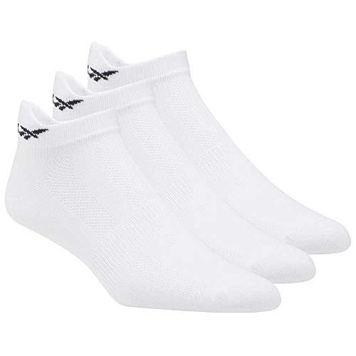 Reebok Damen Tech Style Tr W 3P Socken, Weiss/Weiss/Tingre, S