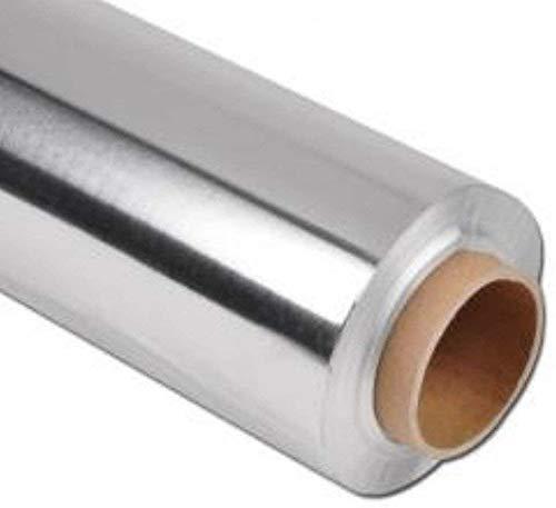450mm x 75m Aluminium Küchenverpflegungsfolie,Alufolie zum Grillen mit eingebautem Cutter