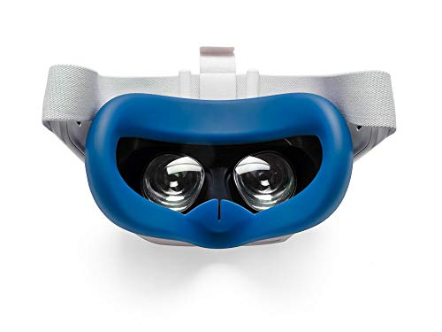 VR Cover Silicone Cover for Oculus Quest 2 (Dark Blue)