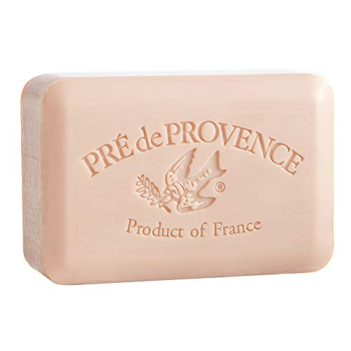 Pre de Provence Artisanal French Soap Bar Enriched with Shea Butter, Amande, 250 Gram