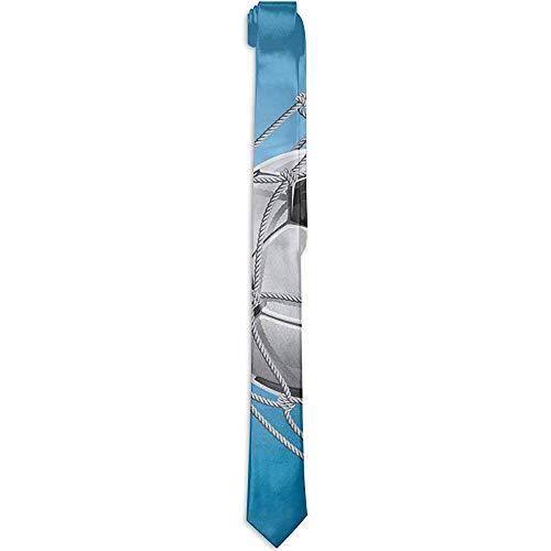 Warm Night Bedruckte Herren-Krawatte mit Blumenmuster, Goal Football In Net Entertainment für den Sieger des aktiven Lebensstils, Krawatten für Herren