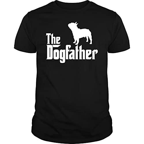 The Dogfather French Bulldog Tshirt - Unisex Tee Black