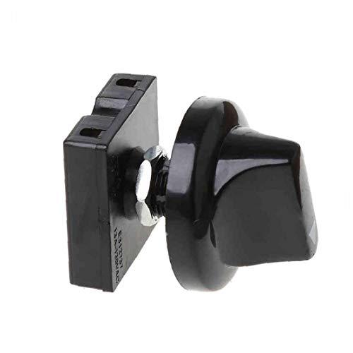 tJexePYK Una Fan Pack Interruptor Giratorio de 4 Posiciones 3 Velocidad Interruptor selector de gobernador con Mando del Ventilador regulador de Velocidad