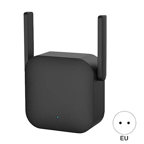 Metermall 300m WIFI Power Amplifier Professional Router Network Extender Power Repeater Rotator 2 Antenna for Xiaomi EU Plug