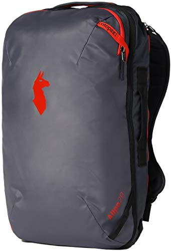 Cotopaxi Allpa 28L Travel Pack - Graphite/Fiery Red 28L
